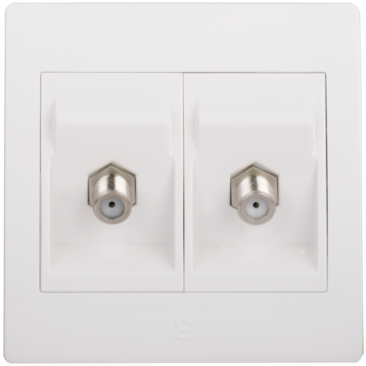 Double satellite socket