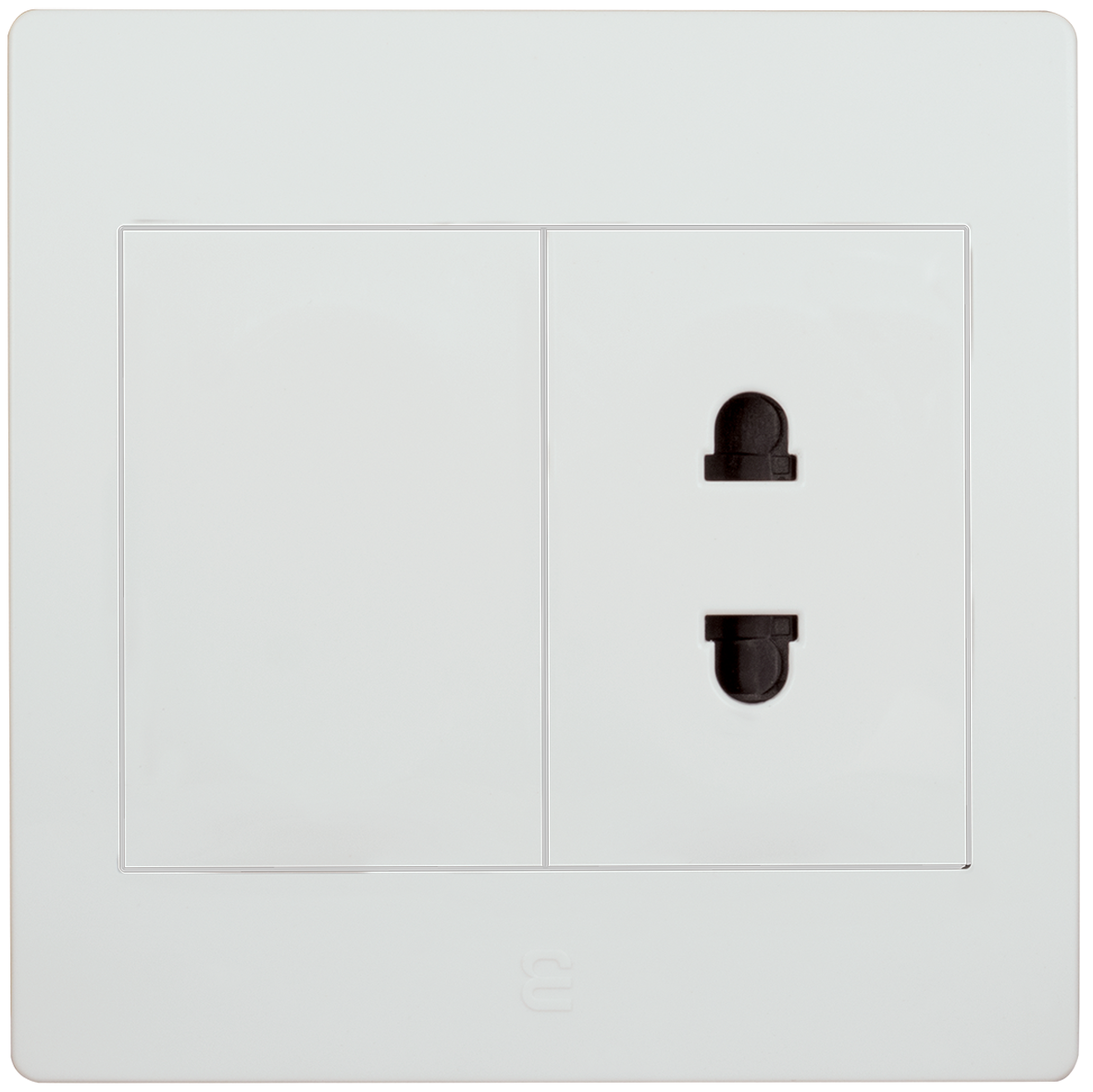 Socket euro-american type with blank